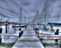 Boats Await The Storm